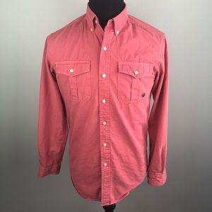 Southern Proper Henning Salmon Shirt Men's Small S